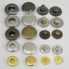 "Leather craft Rapid Rivet Button METAL Snaps Fasteners 15mm 5/8""  50 100 500 set"