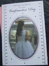 QUALITY ~ CONFIRMATION DAY CARD ~  CHOICE OF TITLE or RELATION ~ L@@K