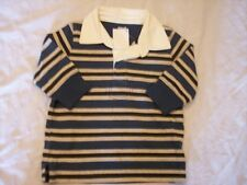 NWT Boy's Gymboree Grizzly Lake long sleeve polo shirt ~ 12 18 24 months 4 4T