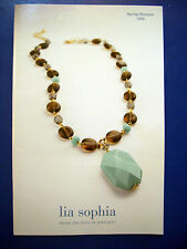 Lia Sophia Jewelry Catalog Spring/Summer Fall/Winter 2006 2007 2008 2009 2010 11