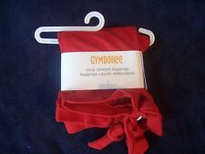 NWT Girl's Gymboree Winter Penguin red crop stretch leggings pants ~ 4