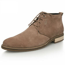 US  6-11  Nubuck Leather Men's Casual lace up dessert chukka Boots shoes boy