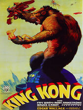 5960 King Kong Movie Poster.Interior design. Decor Art.Decorators Paradise!