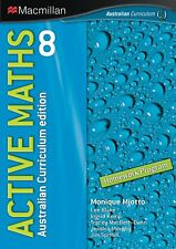 NEW Active Maths 8 by Monique Miotto Free Shipping