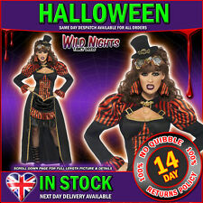 HALLOWEEN FANCY DRESS # LADIES STEAM PUNK VICTORIAN VAMPIRESS