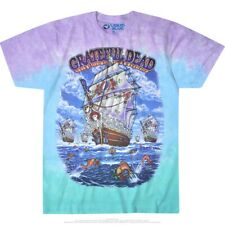 New GRATEFUL DEAD Ship Of Fools Tie Dye T Shirt