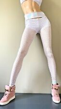 Schminke clothing Lycra leggings Spandex Australian made white dance legging