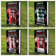 PERSONALISED FOOTBALL CLUB TEAM HISTORY BOOK, FATHERS DAY, CHRISTMAS gift idea