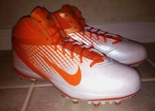 NEW Mens 12.5 13.5 15 NIKE Air Zoom Alpha Talon TD White Orange Football Cleats