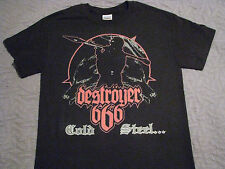 destroyer 666 cold steel for an iron age t shirt new death metal katharsis death