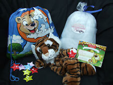 "Build Your Own Bear Party Kit - Make a 16"" CATS - No Sew Ready to Stuff"