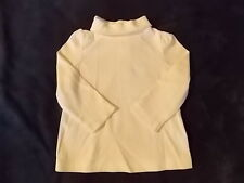 NWT Girl's Gymboree ivory long sleeve turtleneck shirt 3 6 12 18 24 months 2T 3T