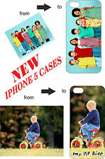 NEW Personalised Iphone 5 case, your photo/text printed, Black & White case