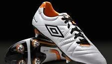 Umbro Speciali 3 Pro A SG  Football Boots Pearlised White Black Nectarine at £20
