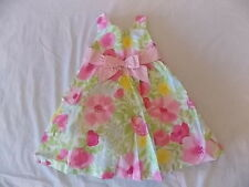 NWT Girl's Gymboree Easter pink flower dress ~ 18-24 months 2T 3T