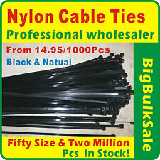 Nylon Cable Ties Professional Wholesaler Black & Natural Available Bulksale