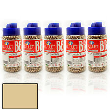 6mm BB GUN PELLETS BULLETS AMMO AIRSOFT JAR PREMIUM QUALITY GOLD COLOR
