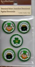 Recollections ST. PATRICK'S  DAY stickers~Dimensional~ BNIP~Many to choose from