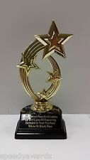 Personalized Trophy Engraved - YOUR Choice of Figure - Engraved FREE