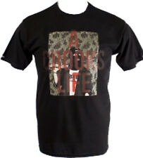 Crooks and Castles Mens A Crooks Life Tee T Shirt Black