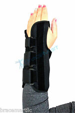 Premium Carpal Tunnel Syndrome Wrist Brace Right or Left Hand Support black