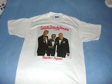 THE RAT PACK  FRANK  DEAN  SAMMY   TOGETHER AGAIN CONCERT  T-SHIRT -1978