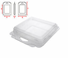 Plastic clamshell blister packaging, Retail Box, Plastic Packaging Box - Large