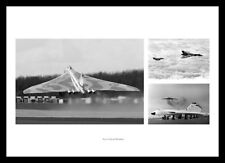 Avro Vulcan Bomber Montage Aviation Photo Memorabilia (VBMU1)