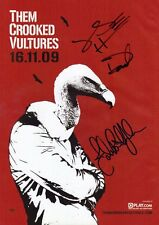 THEM CROOKED VULTURES SIGNED Autographed PHOTO Print POSTER CD Shirt LP 002