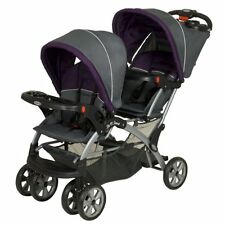 Baby Trend Sit and Stand Tandem Double Twin Duo Stroller Pram Pushchair Buggy