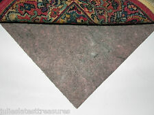 """MULTIPLE SIZES - PINK PANTHER™ 28 Ounce Recycled Felt 3/8"""" Thick Area RUG PAD"""