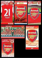 OFFICIAL~ ARSENAL FOOTBALL CLUB  BIRTHDAY ~ GET WELL ~ NEW BABY ~ CHRISTMAS CARD
