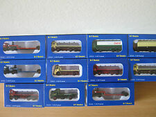 N Gauge 1:148 Trucks, Lorries, Vans. Railway Model Scale N.  New & Sealed