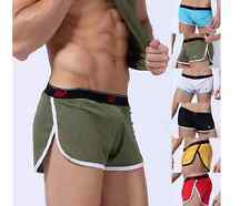 HQ! Slack Mesh Stretch Shorts Side Splitting Sports Trunk Boxer Brief Underwear