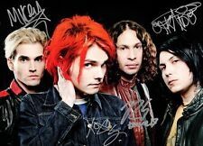 MY CHEMICAL ROMANCE Danger Days SIGNED Autographed PHOTO Print POSTER Shirt 001