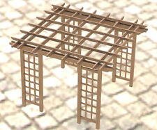 Garden Pergola Woodworking DIY Plans - Easy to Build