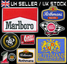TOBACCO SPONSORS PATCH Rothmans, JPS Lotus, F1 Iron-On/Velcro Patch - You Choose