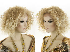 Long Spiral Curls Lace Front Heat Resistant Blonde Brunette Red Curly Wigs