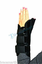 Premium Thumb Wrist Brace Right or Left Hand Support black