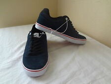 New Mens Shaun White Skateboarding Shoes Navy Blue White Red Suede