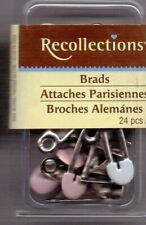 Recollections BABY PINS & DUCKIE Brads~ set of 24~BNIP~Adorable!