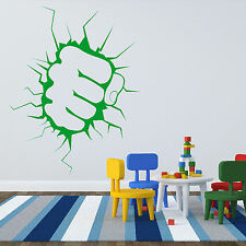 The Incredible Hulk Fist Punch Boys Wall Sticker Art Decal Design Graphic Kid R3