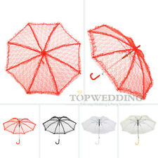 Handmade Lace Bridal Parasol Wedding Birthday Party Shower Sun Umbrella 4 Decor