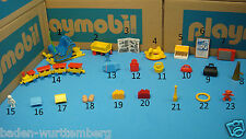 Playmobil purse / train / backpack /sleigh / books / basket TV CHOOSE one 111