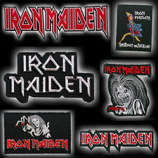 IRON MAIDEN Heavy Metal Rock Embroidered Iron-On / Sew-On Patch Series - NEW