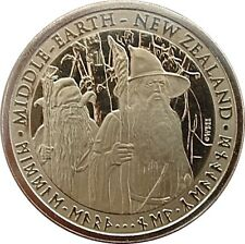 Hobbit Coins:An Unexpected Journey Bilbo Baggins Gandalf Thorin Radagast Dwarves