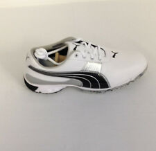 Puma Spark Sport 2 Golf Shoes White/Black/Puma Silver NEW 4559