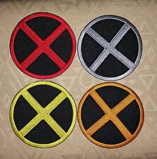 X-MEN Logo Suit Marvel Comic Movie Iron-on Embroidered Patch / Badge/ Logo