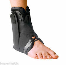 SureSport Premium Ankle Brace Superior Support Shelled Lace Up Stabilization