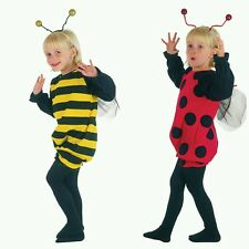 Toddler girls fancy dress kids costume,bumble bee,lady bird.book week age 2-3